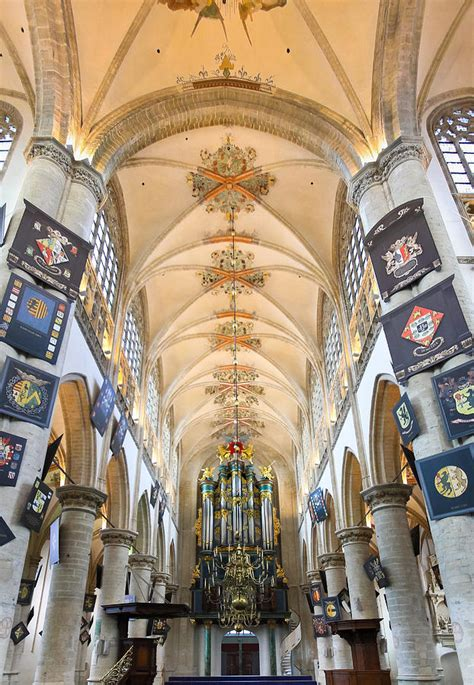 Breda Cathedral Photograph by Jenny Setchell