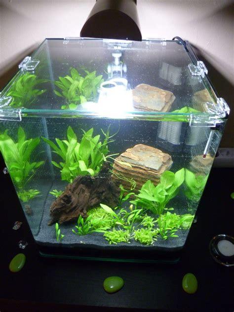 demarage aquarium nano 30 litres