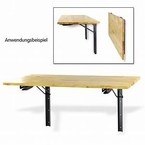 Tisch Wand Klappbar : wandkonsole regalkonsole konsolentisch wandtisch wand ~ Michelbontemps.com Haus und Dekorationen