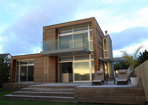 modern coastal house  waimarama  zealand modern house designs