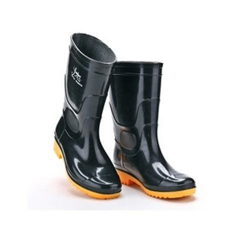 black unisex sepatu safety boot rs 250 pair imperial safety services id 16231354533