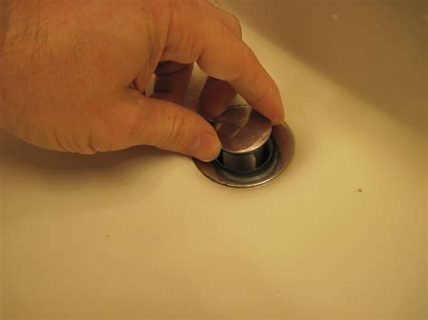 clean out sink drain how to clean out a sink pop up drain stopper youtube