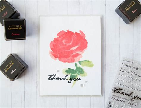 clean simple cardmaking altenew stamp simple cards