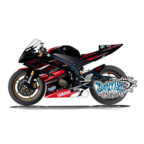 custom made to order graphic kit for 2006 2014 yamaha r6 international moto parts