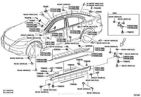 Names Of Parts Of A Car In English With