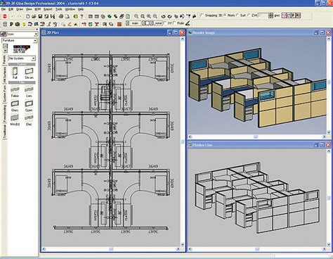 Furniture Specification, Design, And Layout  Office