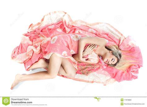beautiful elf lying   floor stock image image