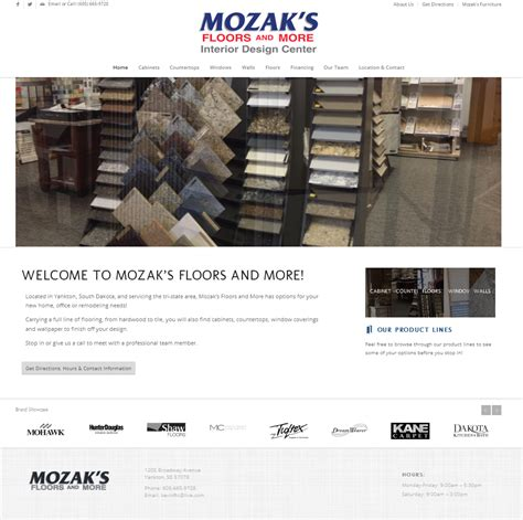 Mozak's Floors And More  Heartland Internet Solutions