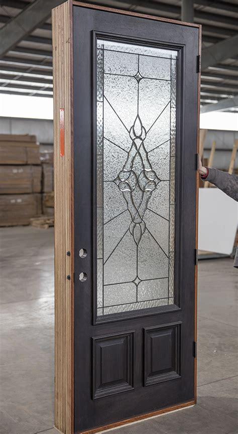 cl  mahogany exterior door ebony finish