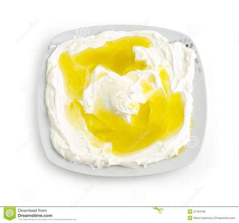cr駱ine cuisine nourriture libanaise de fromage de yaourt de labneh image libre de droits image 27784196