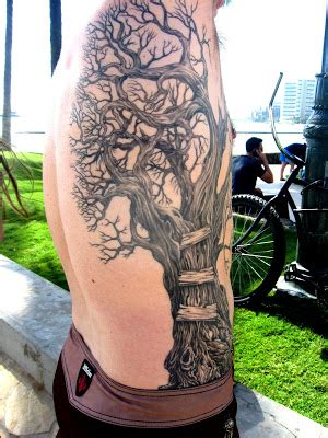 slip  snak trees tree trimmers  tree tattoo