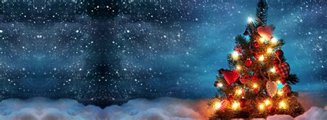 beautiful christmas tree 2 facebook cover timeline cover