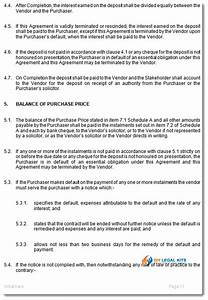 sale of business on vendors terms agreement template With legal document preparation business for sale