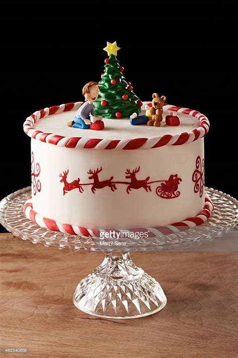 easy christmas cake decoration ideas