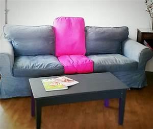 Teinture Pour Cuir Canapé : notre ikea hack sur un canap ektorp trouv dans la rue ~ Premium-room.com Idées de Décoration