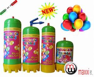 MaxxiLine Helium bottles Small 2 2l disposable helium
