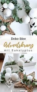 Deko Für Adventskranz : au ergew hnliche adventskr nze sind dein ding idee f r eine adventskranz deko mit eukalyptus ~ Buech-reservation.com Haus und Dekorationen