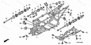 Honda Atv 2007 Oem Parts Diagram For Frame