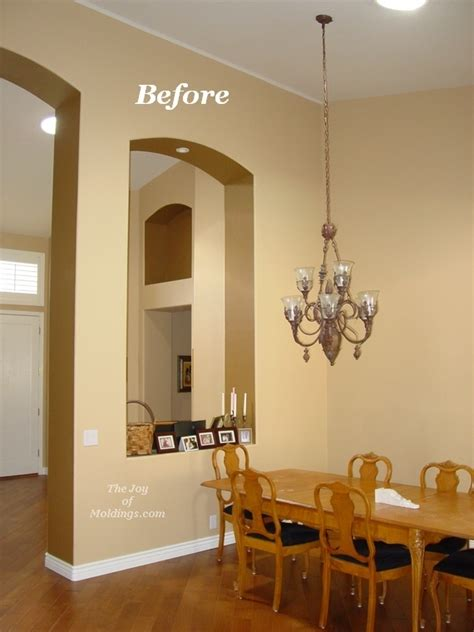 Before & After: The Secret to Installing Crown Molding on