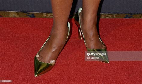 TV Personality Gayle King, shoe detail, attends the The ...