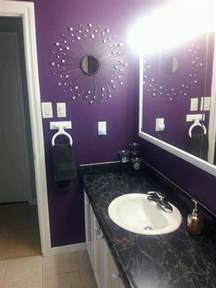 purple bathroom ideas purple bathroom things i redid purple bathrooms bathroom and mirror