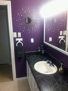 purple bathroom western redo home with bling bathroom With deep purple bathroom