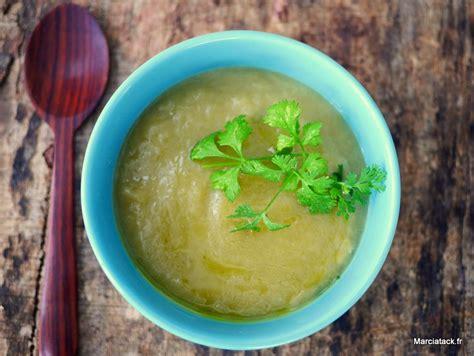 soupe de poireau pommes de terre la soupe facile