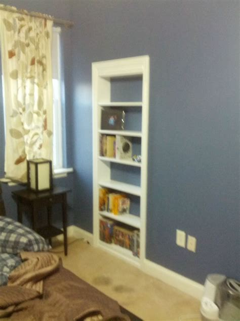 diy bookcase closet door hidden bookcase door stashvault