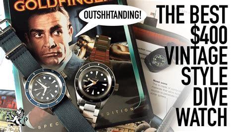 The Best Vintage Inspired Dive Watch Under $400 & Hottest