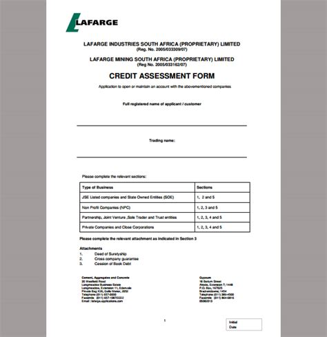 Read our blog to know more about credit risk assessment. Assessment Template for Credit, Template of Credit Assessment | Sample Templates