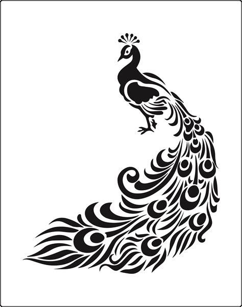 peacock stencil  buy