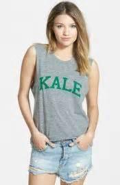 WornOnTV: Aria's 'KALE' tank top and printed leggings on ...