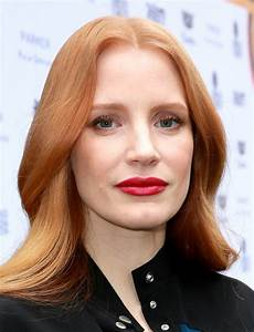 Jessica Chastain Red Lipstick Jessica Chastain Makeup Lookbook StyleBistro