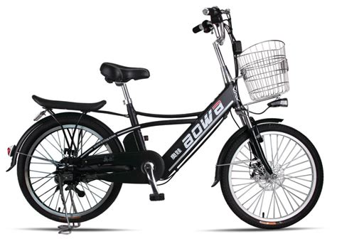 250w Hidden Battery Lithium Bicycle , Battery Operated