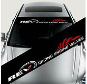 Reflective Car Styling Front Windshield Decal Vinyl