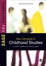 key concepts  childhood studies sage publications