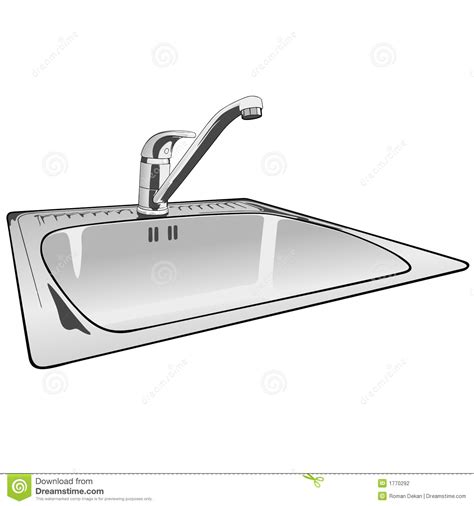 kitchen faucet prices faucet single lever sink mixer stock vector