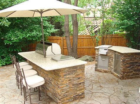 small backyard kitchen small outdoor kitchen projects 171 outdoor living of new jersey