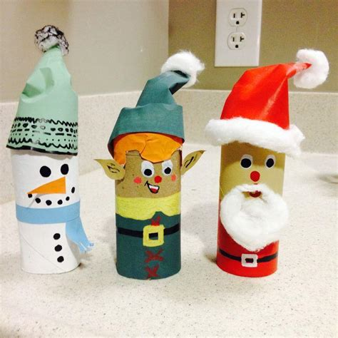 toilet paper rolls christmas crafts find craft ideas