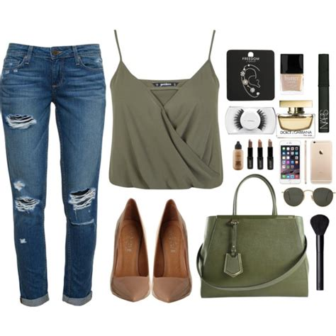 Outfit Ideas with Wrap Crop Tops - Outfit Ideas HQ