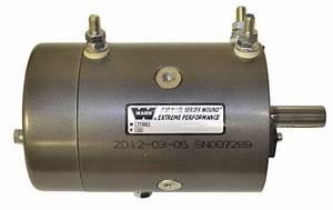 Warn 4 6hp Motor To Suit M10000  M12000  M15000  74756