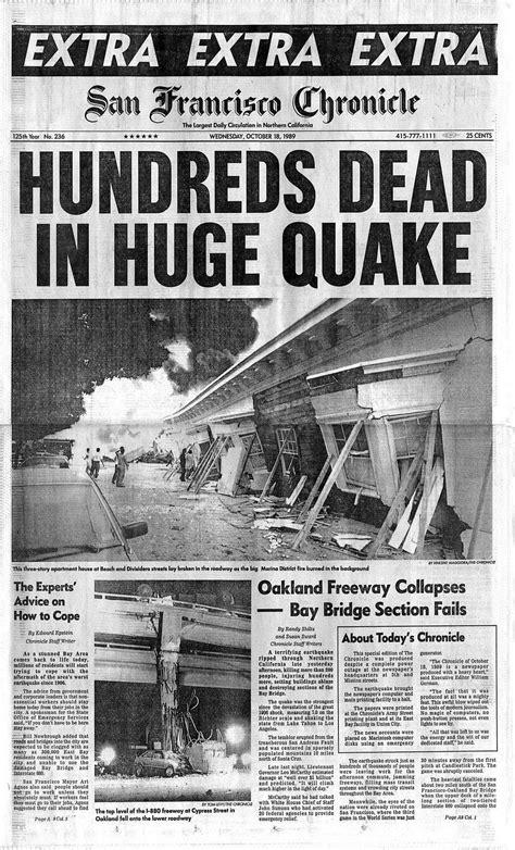 chronicle covers   loma prieta quake transformed