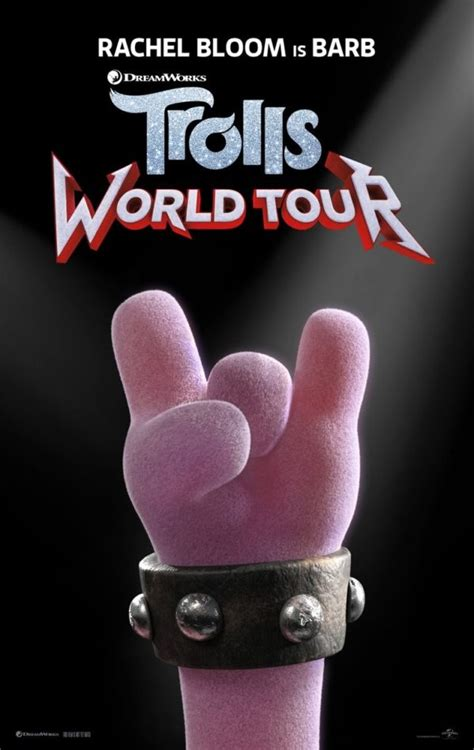 trolls world  character posters    images