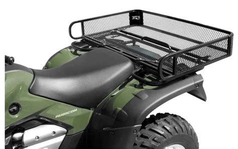 atv rack accessories new rear atv rack basket 2014 polaris sportsman 570 atv ebay