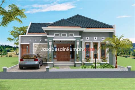 gambar contoh desain rumah pojok rumah xy