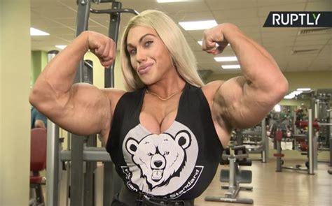 woman  sexy bodybuilder natalia kuznetsova