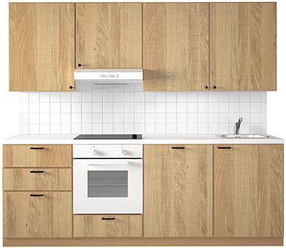 Küche Hyttan by K 252 Chenfront Ikea Hyttan Eiche Klar Lackiertes