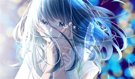 Anime Cry Wallpaper - 3500x2064 anime hair