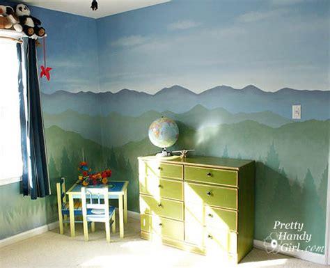 Camping Themed Boy's Room-pretty Handy Girl