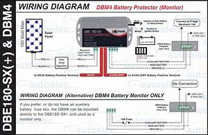 Dual Battery With Isolator Wiring Diagram